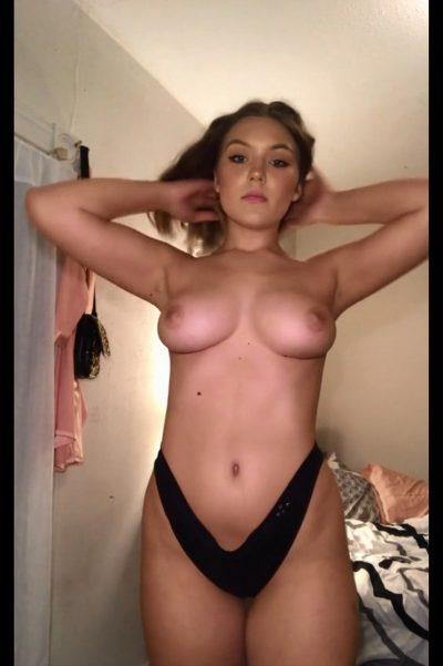 Watch the alluring younger babe removing her underwear (gif)