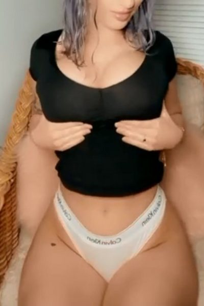Titty Drop and curvy hips (gif)