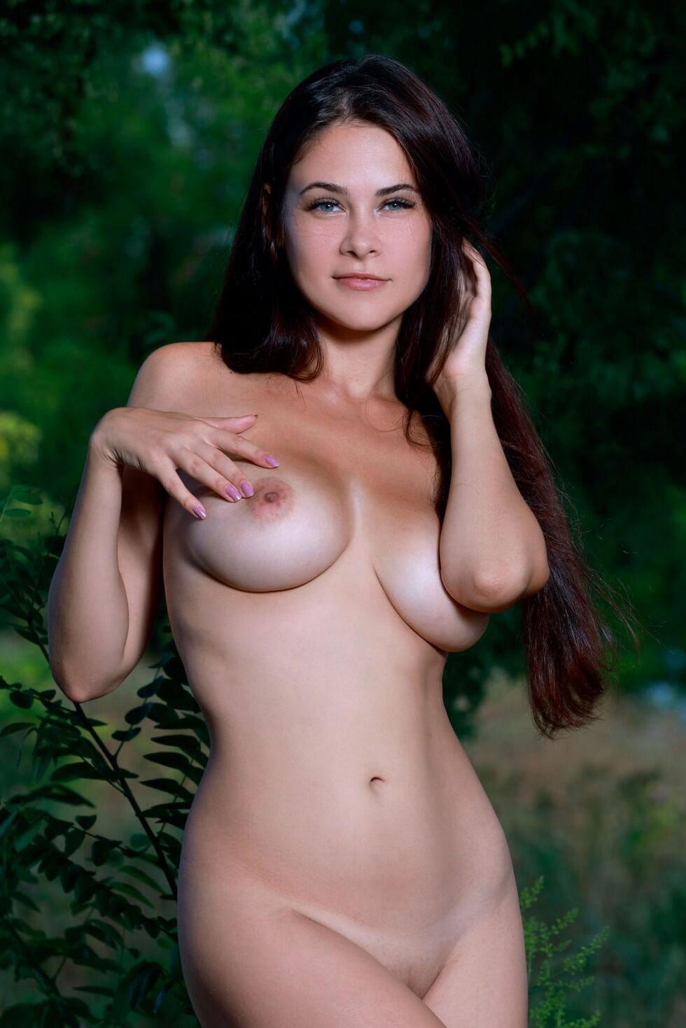 Beautiful Martina Mink Provocative By Met Art