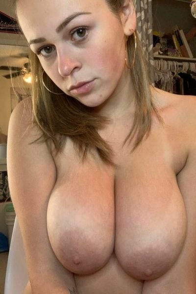 Delightful squeezable natural boobs (shot)