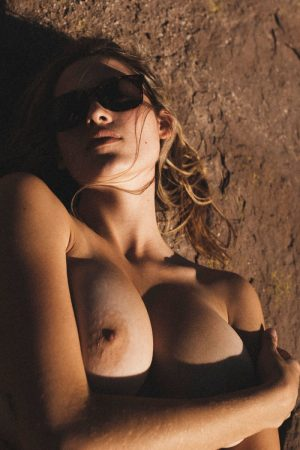 artistic nude model with hot boobs