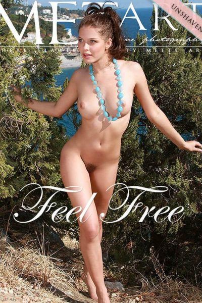 Liza J nude in Feel Free by Metart (cover)