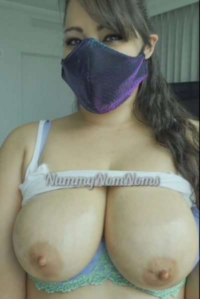 Mommy's boobs exposure (gif)