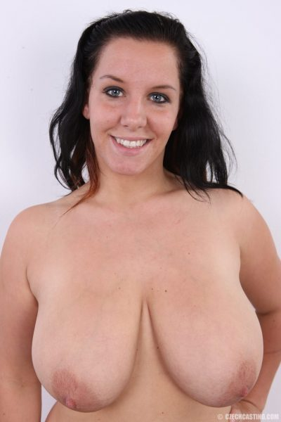 Kveta nude big natural tits by Czech-Casting