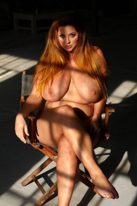 """Lucy Vixen nude in """"Oh my days"""" by Nothing-But-Curves"""