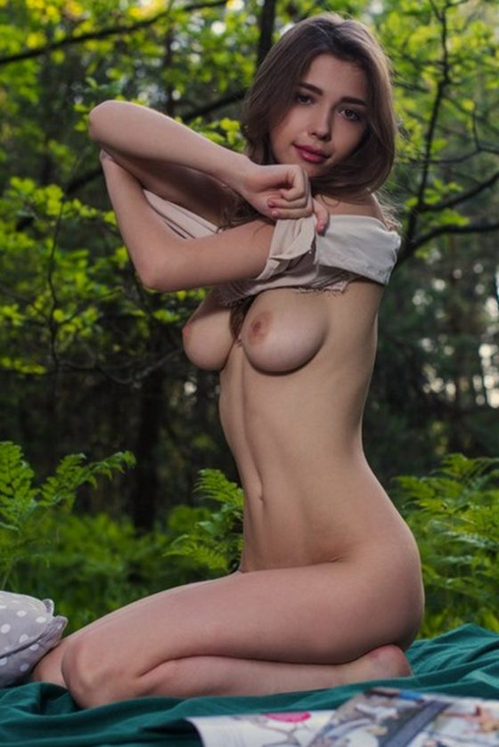 Delightful Mila Azul No Masks Just Boobs by ThisYearsModel